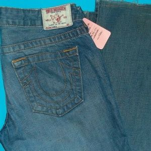 29 X 31 TRUE RELIGION CARRIE SKINNY FLARE COTTON